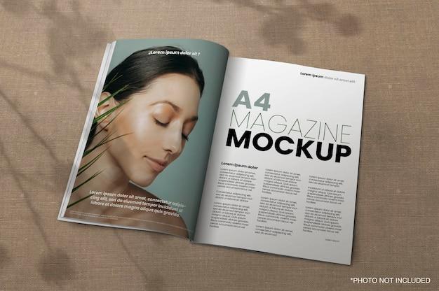 Very well detailed for high quality. Magazine Mockup Freepik