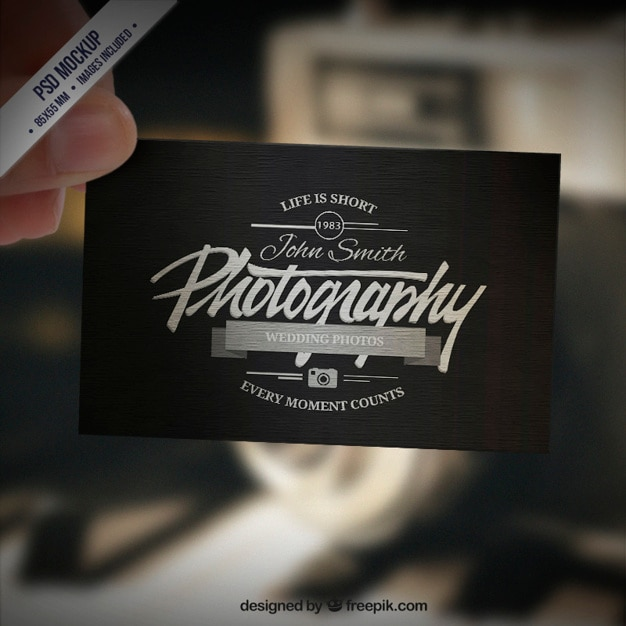 Photography Business Card Vectors Photos And PSD Files