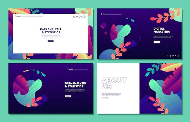 web templates psd 6