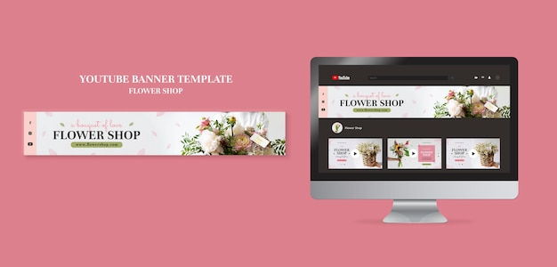 If you're a florist or wedding planner, this is the website template for you. Free Psd Flower Shop Web Template