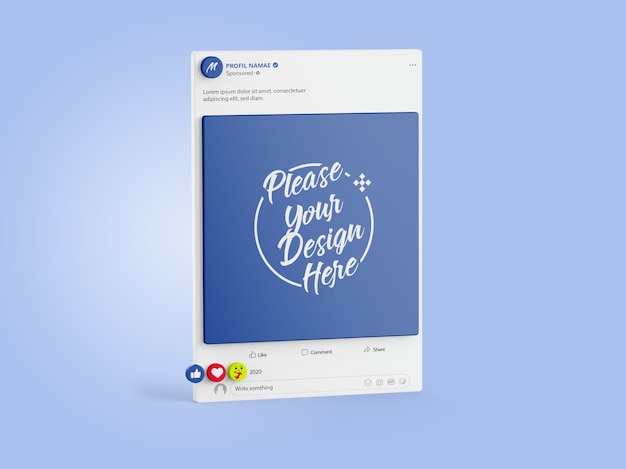 That's why we've created these facebook ad t. Facebook Psd 12 000 High Quality Free Psd Templates For Download