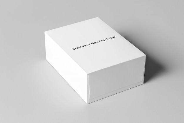 Download Software box psd mockup PSD file | Free Download