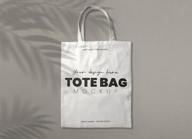 Use photoshop to make all the changes and enjoy the results! Free Psd White Tote Bag Mockup