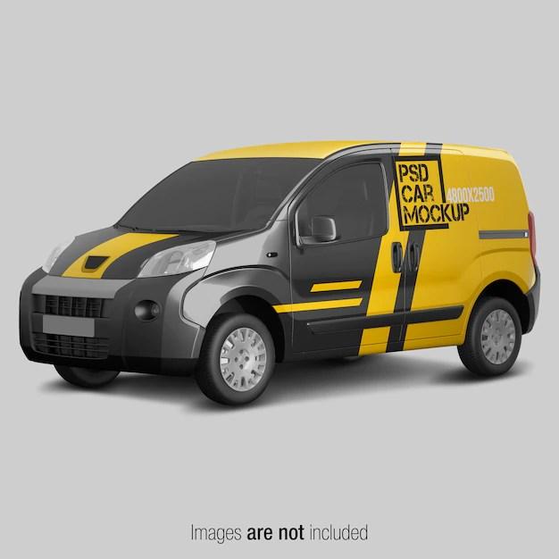 Download Van Mockups Psd Yellowimages