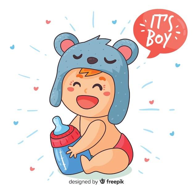 baby shower vectors photos