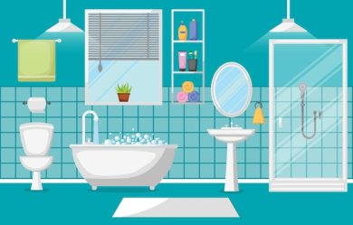 Free Bathroom Mirror Vectors 600+ Images in AI EPS format