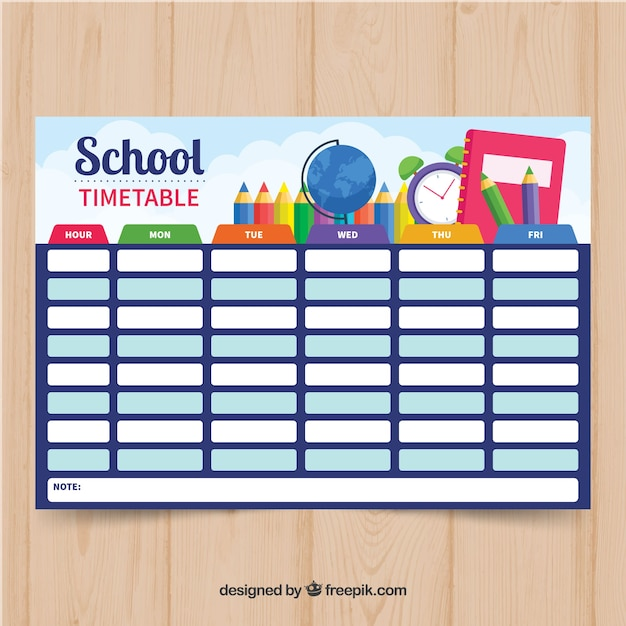Blue school timetable also vectors photos and psd files free download rh freepik
