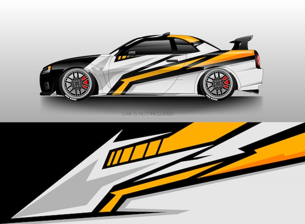 car wrap designs vector