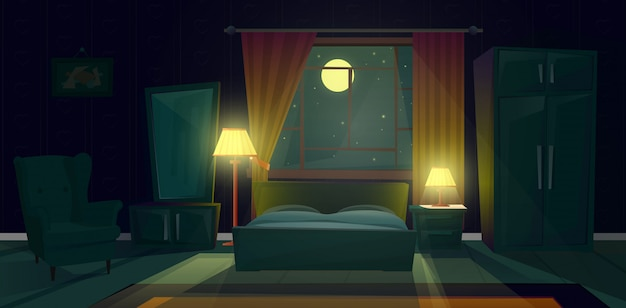 bed collection vector free