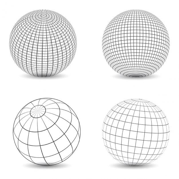 wireframe globe vectors photos