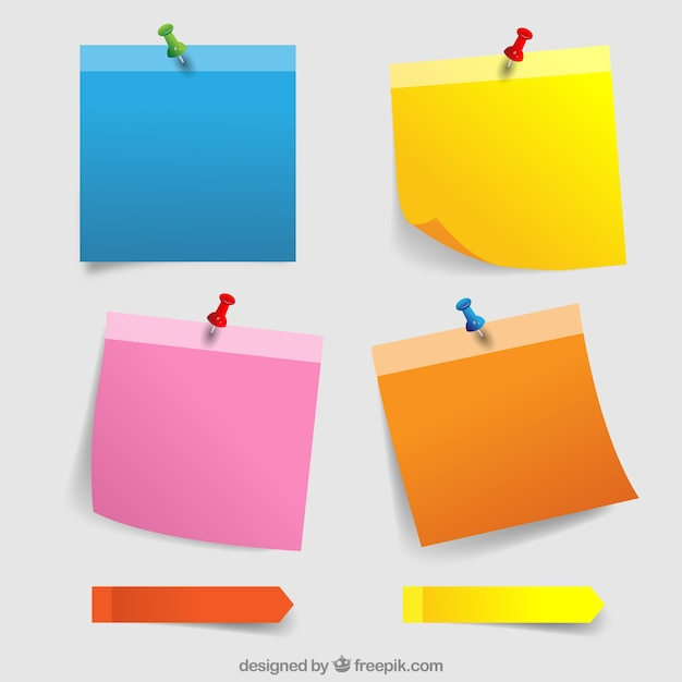 Post It Vectors Photos And PSD Files Free Download
