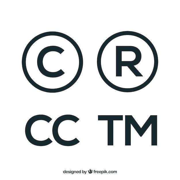 copyright symbol vectors photos