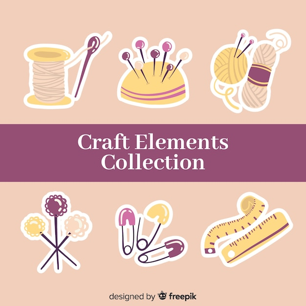 Free Vector Craft Element Collection