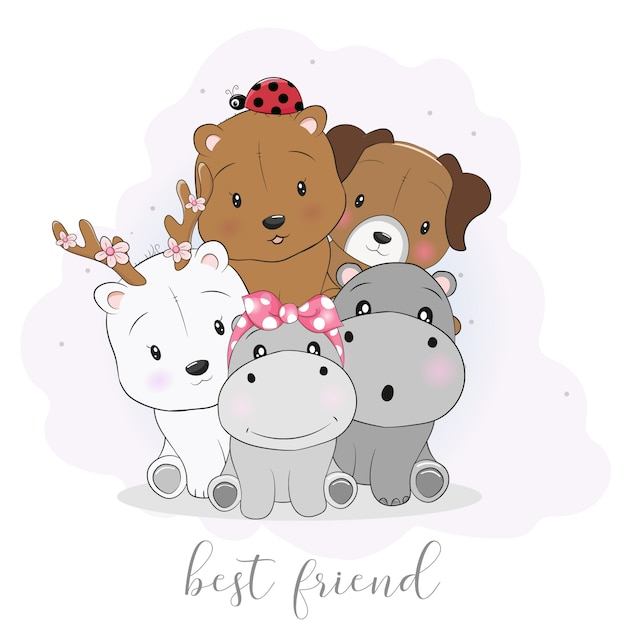 best friends forever with