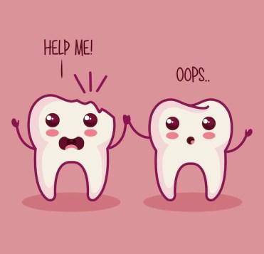 Gigi Tiba-Tiba Copot atau Patah- Global Estetik Dental Care