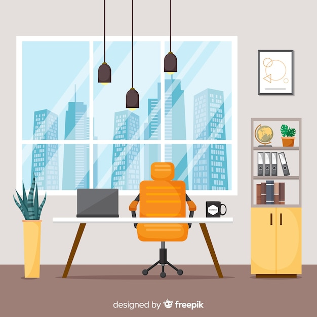 office chair illustration stacking sling target vectors photos and psd files free download elegant interior with flat design