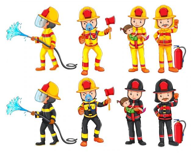 fireman vectors photos and