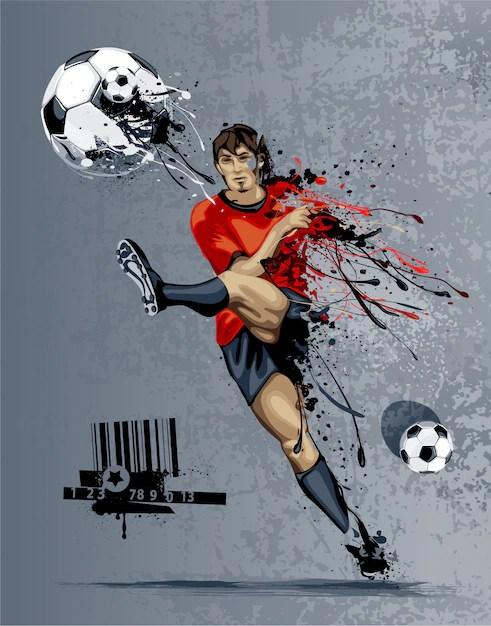 Background Sepak Bola : background, sepak, Football, Images, Vectors,, Stock, Photos