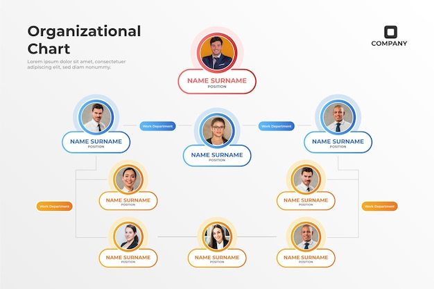 The functional org chart does not have a project manager role, which differentiates from matrix org chart where employees need to obey orders from both functional managers and project managers if employees are working on some projects. Organization Chart Images Free Vectors Stock Photos Psd