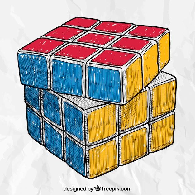rubik cube vectors photos