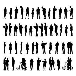 People Silhouettes Images Free Vectors Stock Photos & PSD