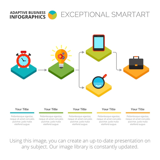 Infographic flow chart slide template also flowchart vectors photos and psd files free download rh freepik