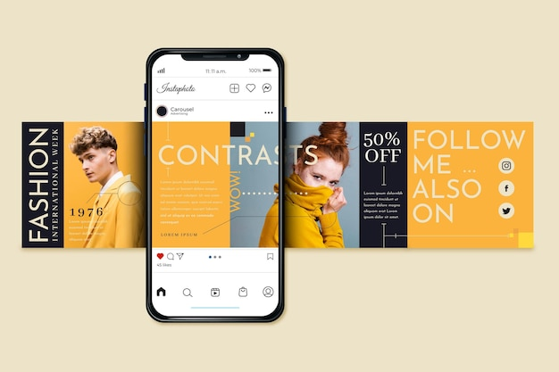 ✓ free for commercial use ✓ high quality images. Instagram Carousel Images Free Vectors Stock Photos Psd