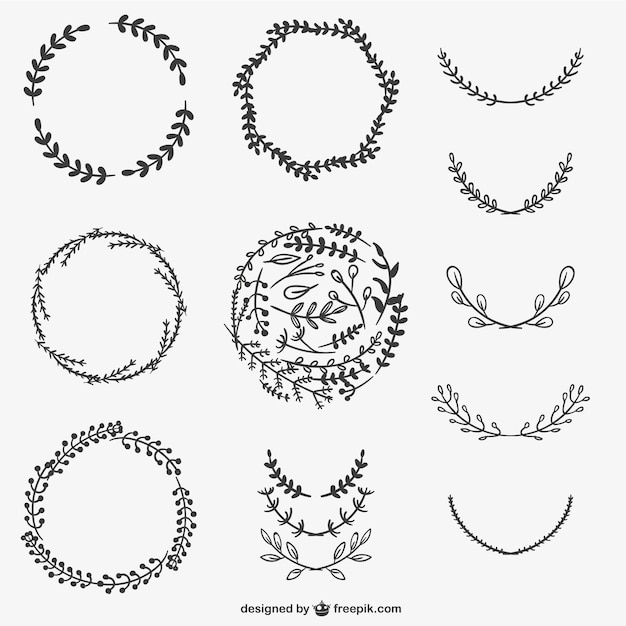 wreath template free # 33