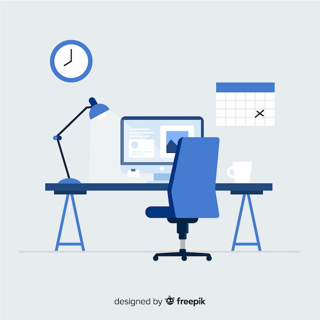 office chair vector knoll dining chairs vectors photos and psd files free download modern desk with flat design