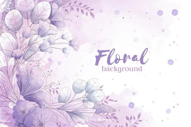 watercolor flowers vectors photos