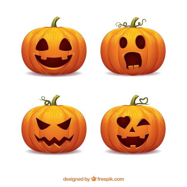 pumpkin face vectors photos