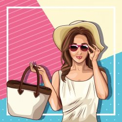 Fashion Lady Images Free Vectors Stock Photos & PSD