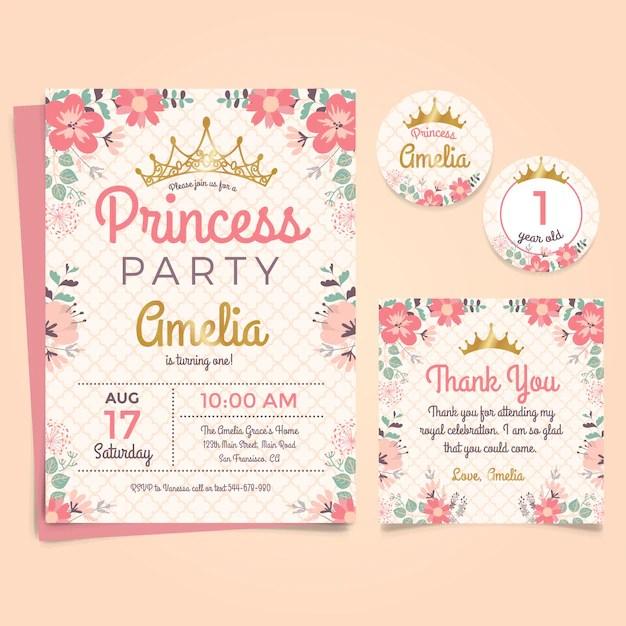 Birthday Invitation Vectors Photos And PSD Files Free