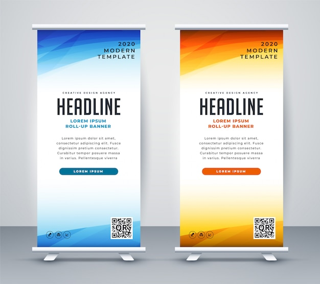 professional roll up stand