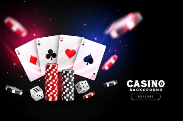 Free Vector | Casino background design