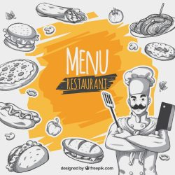 Free Restaurant menu background SVG DXF EPS PNG Tree Vectors Photos and PSD files Free Download