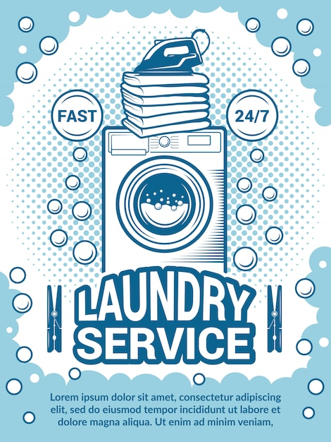 Background Banner Laundry : background, banner, laundry, Laundry, Banner, Images, Vectors,, Stock, Photos