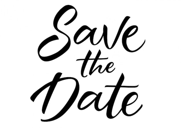 save our date vectors