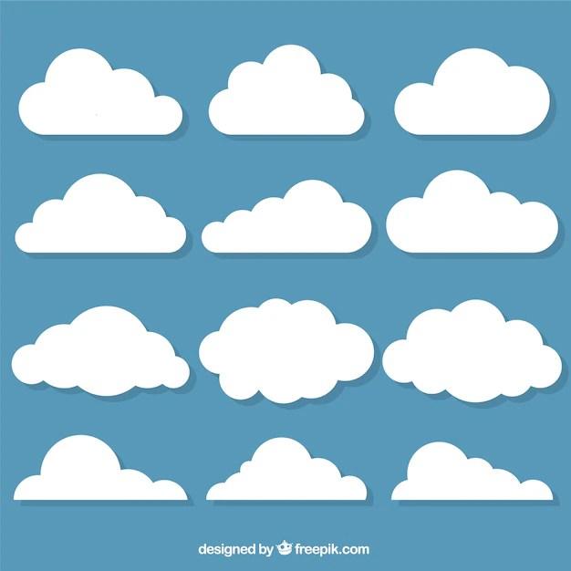 cloud vectors photos and