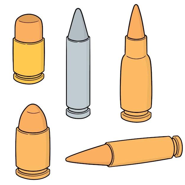 bullet vectors photos and