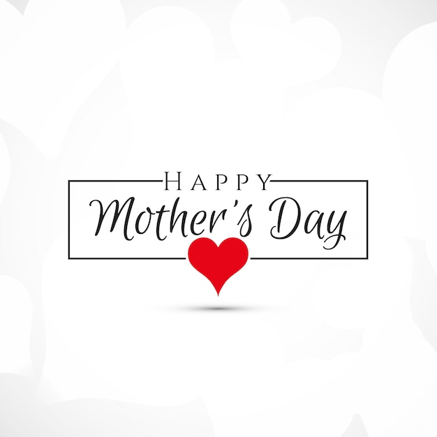 simple mothers day design