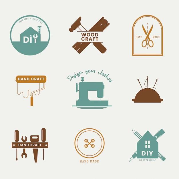Craft Logo Images Free Vectors Stock Photos Psd