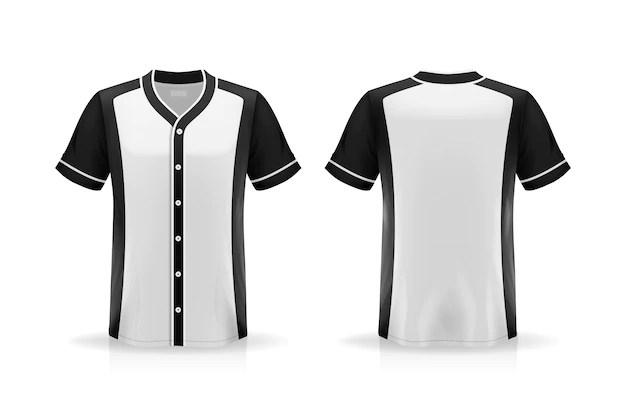 Download Baseball jersey mockup | Premium Vector