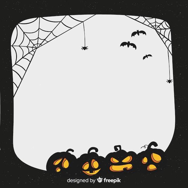 halloween frame vectors photos