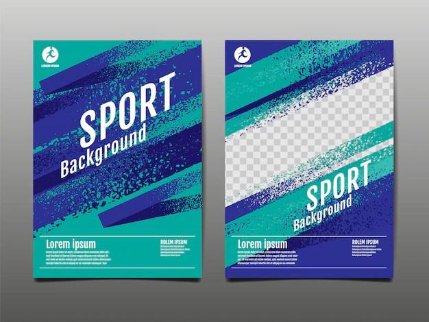 sport poster images free vectors