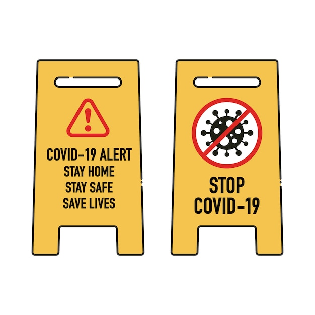 Covid 19 Stay Home Logo Images