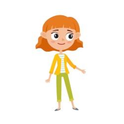 Premium Vector Fashion cartoon icon set women fashion clothes