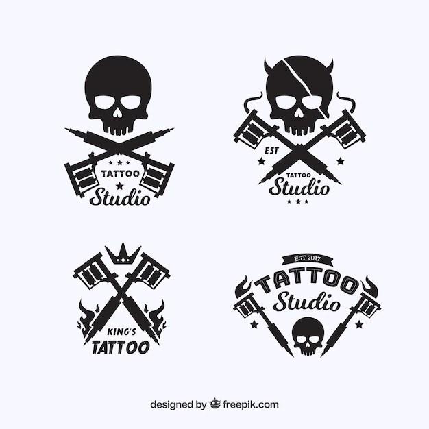 skull logo vectors photos