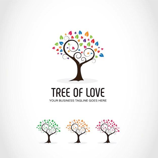 Free Tree Logo Design Svg Dxf Eps Png 7 Creative Spring Svg Craft Ideas