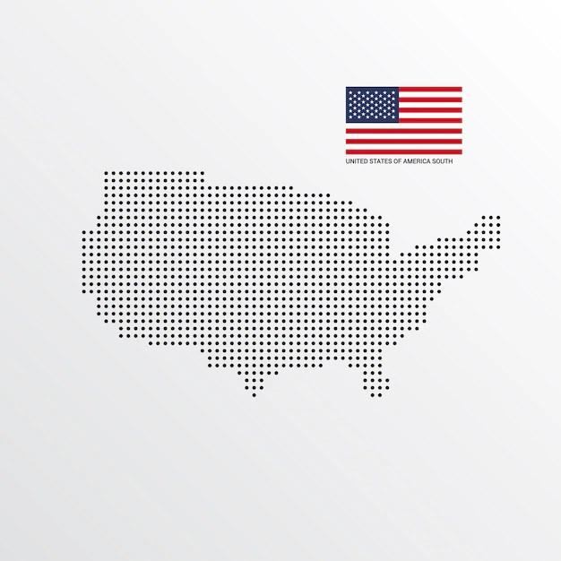 united states map vectors